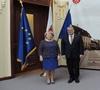 Ambasadorul Elveției în vizită la Primăria Sibiu