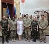 Delegație militară mixtă româno-americană în vizită la Primăria Sibiu