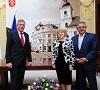 Primăria Sibiu a primit vizita vicepreședintelui Parlamentului Germaniei, domnul Johannes Singhammer