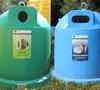 Ce deșeuri colectăm în iglu-urile verzi și albastre?