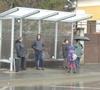 Primăria Sibiu a instalat mobilier în 14 staţii de autobuz din oraş