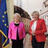 Primarul orașului Klagenfurt din Austria, în vizită la Sibiu