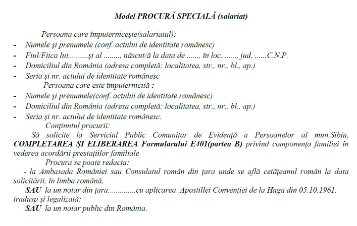 Model Procusa